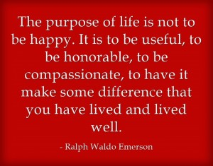 The-purpose-of-life-is